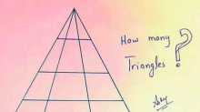 How many triangles are in this picture? Try the latest puzzler to baffle the internet