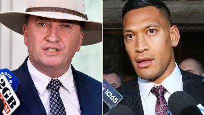 'Dopey': Barnaby Joyce's bizarre defence of Israel Folau