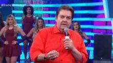 E Fausto Silva soltou o verbo pra cima do governo