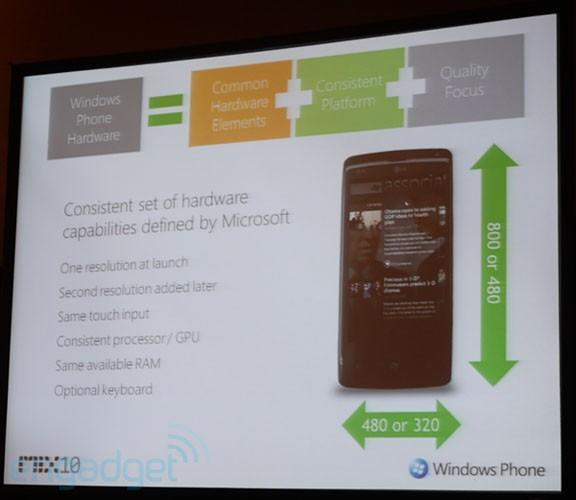 Windows Phone 7 Series will be WVGA only at launch, HVGA later