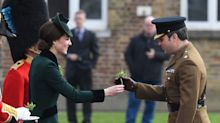 Kate Middleton, impecable celebrando St. Patrick