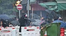 Hong Kong bans China National Day protest