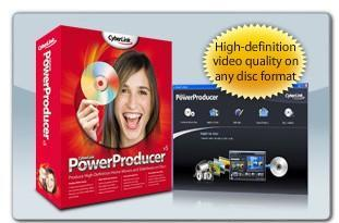 CyberLink's PowerProducer 5 available to author Blu-ray Discs