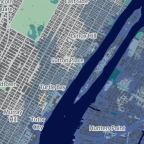 Sea level rise will flood the neighborhood around the UN building with two degrees warming