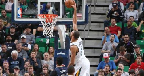 Basket - NBA - La nuit des Frenchies : Rudy Gobert costaud, Evan Fournier impuissant