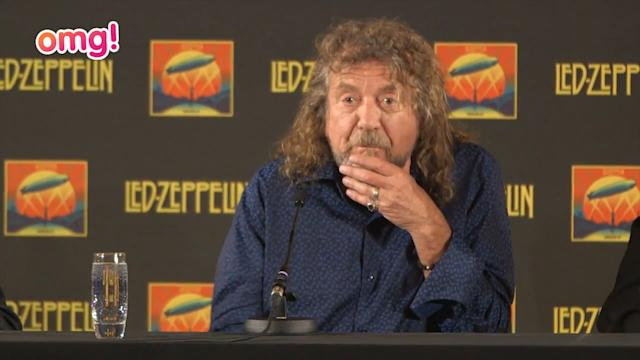 Robert Plant gives thumbs up to Mumford and Sons