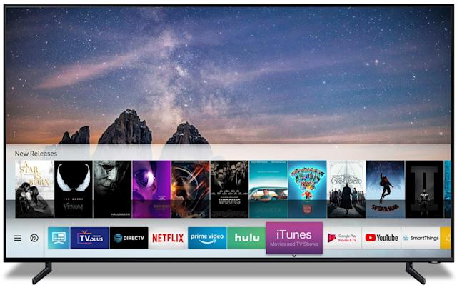 Samsung's 2019 smart TVs will support iTunes and AirPlay 2