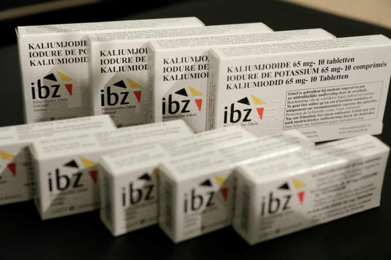 Belgium distributes iodine pills in case of nuclear accident