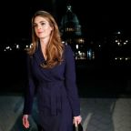 U.S. House lawmaker subpoenas Hope Hicks and an ex-staffer to Don McGahn