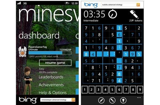Free Minesweeper, Sudoku come to Windows Phone 7 in the US