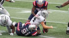 Raiders report card: Grades for offense, defense in loss vs. Patriots