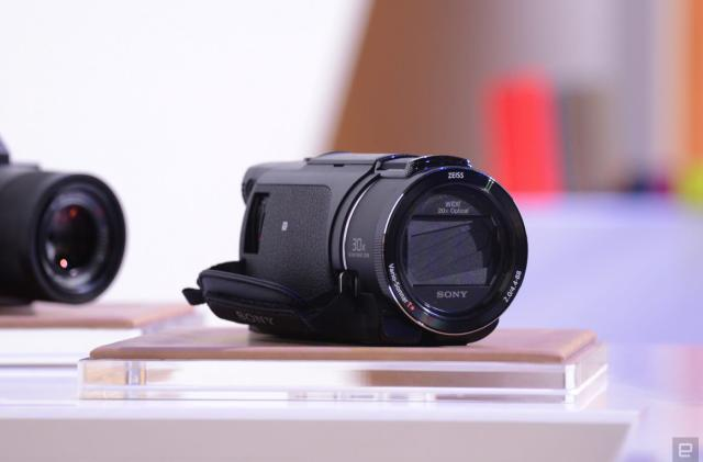 Sony's flagship Handycam camcorder mixes 4K with a 20x zoom