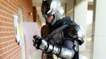Student Cosplay Fan Delivers Presentation Dressed As Batman