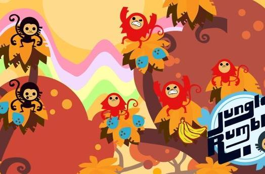 Fight for fruit in rhythm/RTS hybrid Jungle Rumble, out now