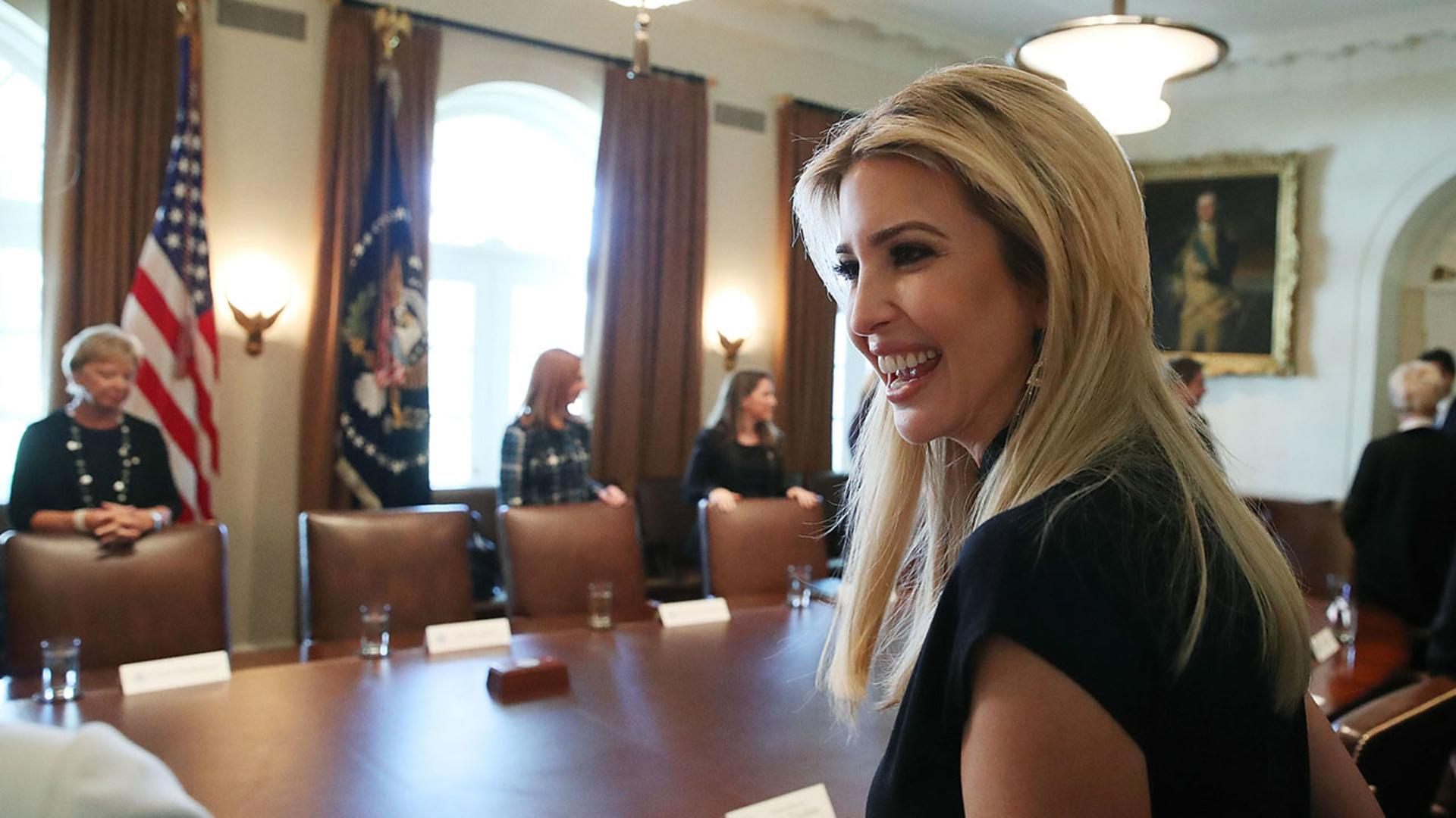 People Are Furious Over a Photo of Ivanka Trump Sitting In ...