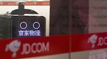 Chinese e-commerce giant JD.com's shares gain 5.7% in their Hong Kong debut