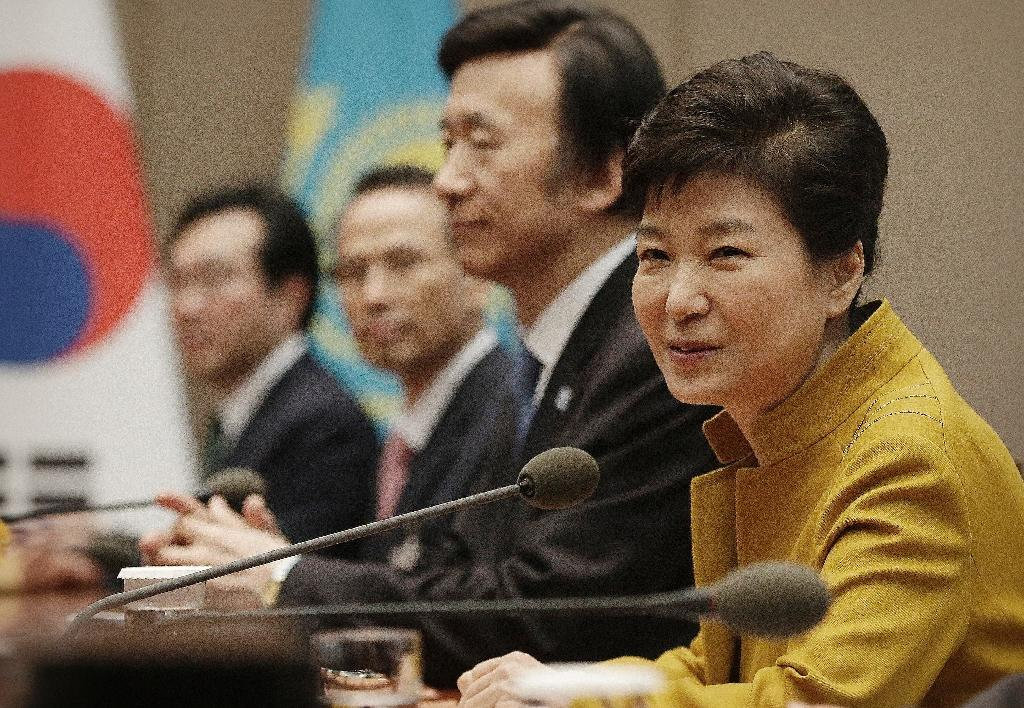 South Korean President Park Geun-Hye has refused to answer questions from prosecutors about an influence-peddling scandal involving her secret confidante Choi Soon-Sil (AFP Photo/Ahn Young-joon)