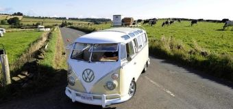 Electric VW Microbus camper van coming