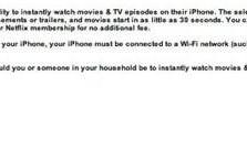 Netflix survey inquires about iPhone streaming, even though CEO says 'not coming soon'