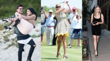 All the Ridiculous Things Celebrities Have Done in Heels