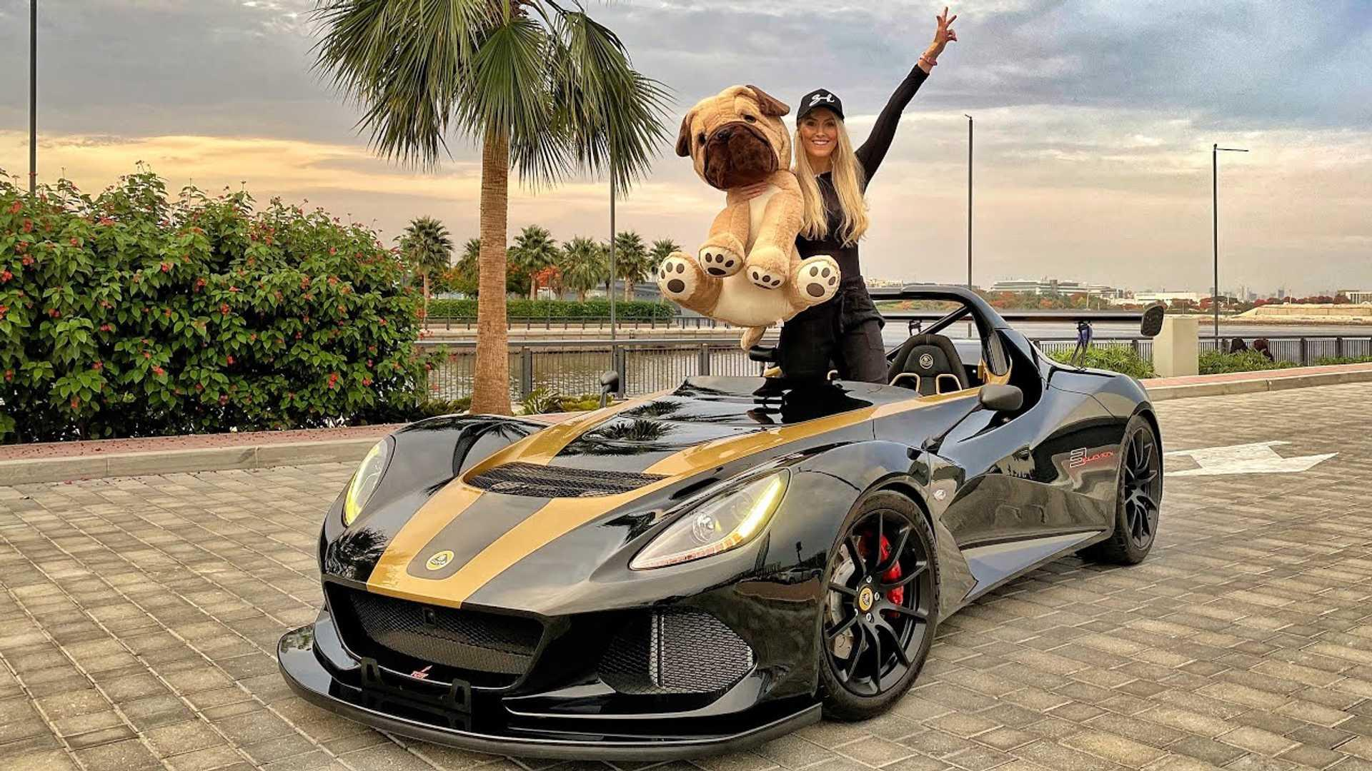 See Rare Lotus 3 Eleven 430 In Action With Supercar Blondie