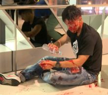 'Triad' attack on Hong Kong protesters sparks anger