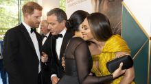 When Meghan Markle met Beyonce at the 'Lion King' premiere, she gave her a big hug, and Jay-Z had parenting advice