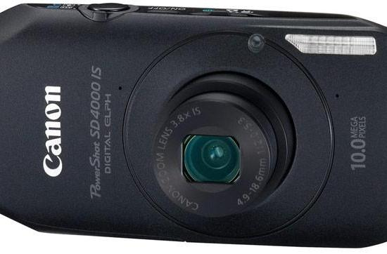 Canon debuts low-light lovin' PowerShot SD4000 IS digicam