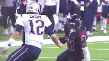 Tom Brady's Wimpy Tackle After Interception Invites Twitter Mockery