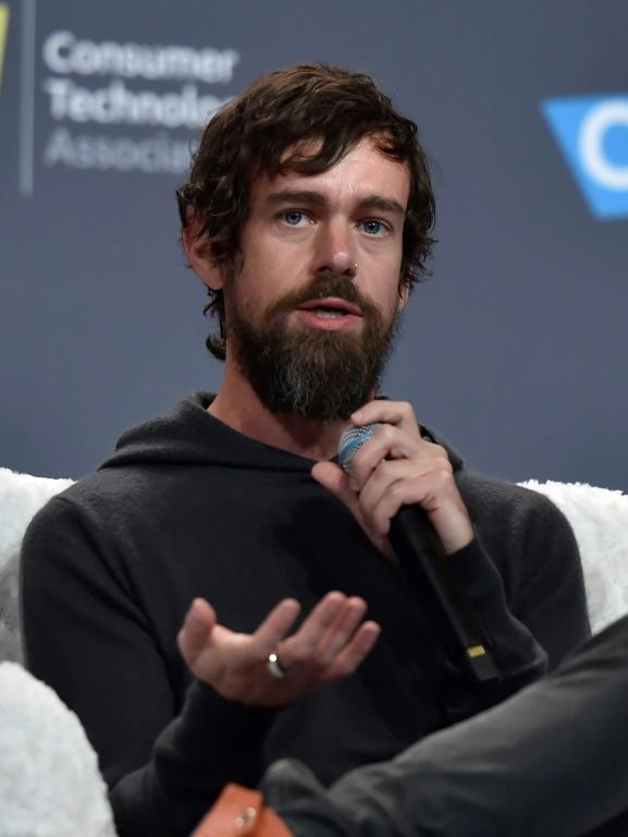 Republican lawmakers called for Twitter CEO Jack Dorsey, seen here in 2019, to testify about the reasons the internet platform blocked sharing of an article critical of Democratic nominee Joe Biden