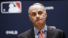 Rob Manfred insists MLB will go on: 'We are playing, the players need to be better'