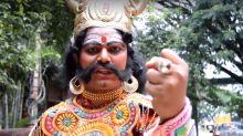 Bengaluru: Yamraj does Kiki, only to warn you against it!
