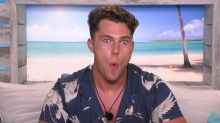 Curtis Pritchard put on two stone while in the 'Love Island' villa