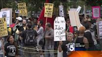In Anaheim, Demonstrators Rally Against Police Brutality