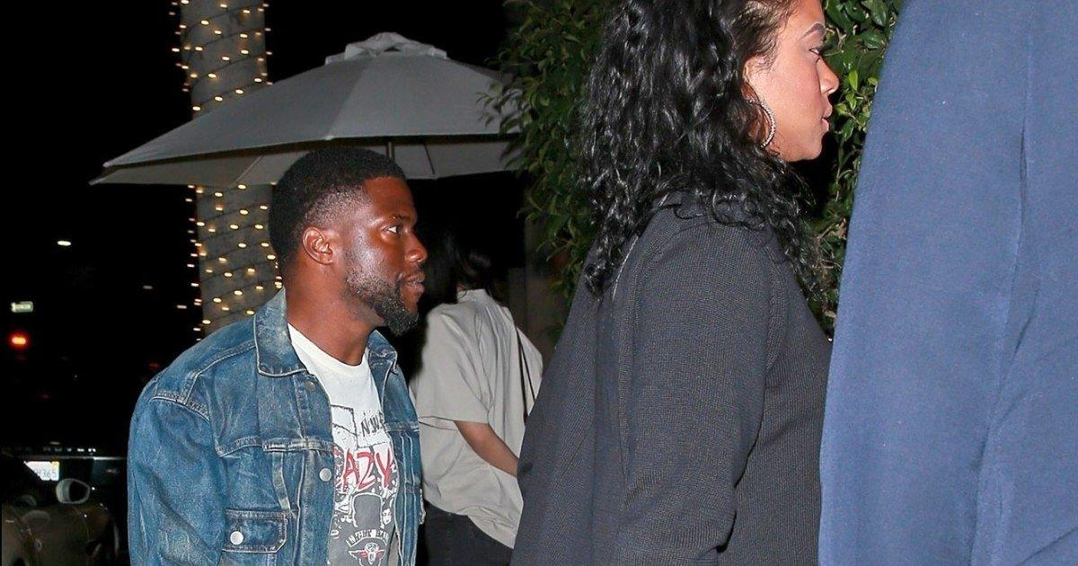 Image result for Kevin Hart Steps Out For Dinner With His Wife Amid Ongoing Recovery From Car Accident