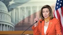 Pelosi's office says the latest coronavirus stimulus talk with Mnuchin had 'encouraging news on testing'
