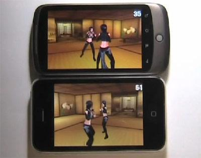 iPhone 3GS pitted against Nexus One in 3D frame rate test (video)