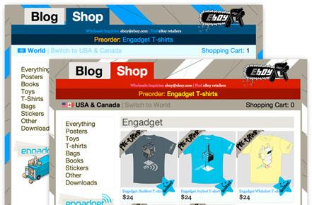The Engadget / eBoy t-shirt shop is officially open, pre-orders start today!