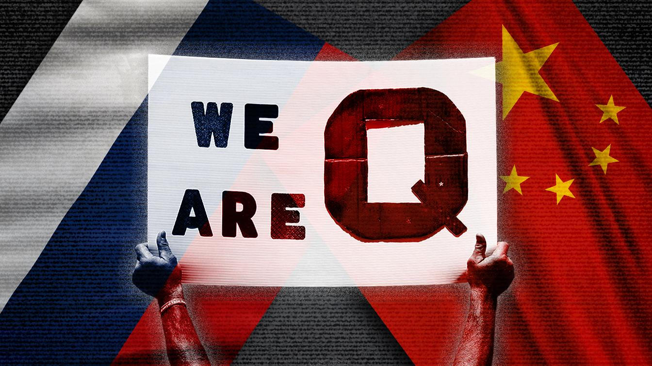 Report: China, Russia fueling QAnon conspiracy theories