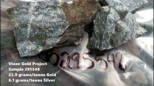 ALX Uranium Corp. Samples up to 23.9 Grams/Tonne Gold at Vixen Gold Project