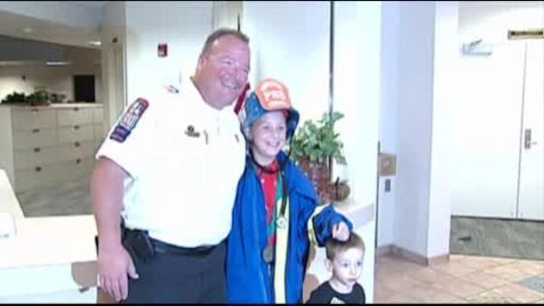 Young kids given credit for saving toddler