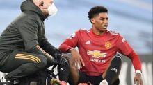 Manchester United team news: Injured Marcus Rashford 'out of AC Milan game' but avoids ligament damage