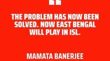 East Bengal to play in ISL 2020-21 - Mamata Banerjee