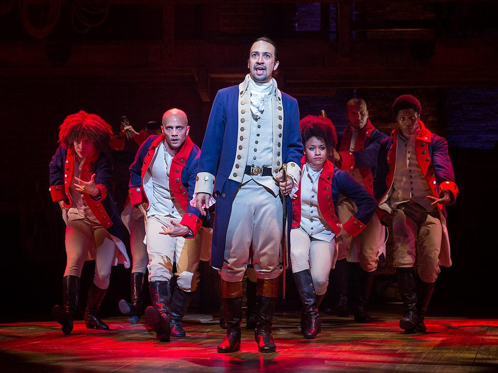 a report on lin manuel mirandas hamilton a broadway hit musical Hamilton: an american musical is a sung- and rapped-through musical about the life of american founding father alexander hamilton, with music, lyrics, and book by lin-manuel miranda, inspired by the 2004 biography alexander hamilton by historian ron chernow.