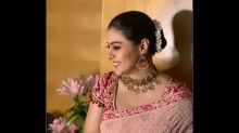 Kajol Looks Breathtaking In Her Gorgeous Intricately-embroidered Sari