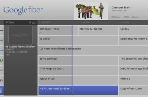 Google Fiber gets formal launch, adds Google Fiber TV (update: event video)