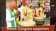 Watch: Congress supporters celebrates Rahul Gandhi's 48th birthday