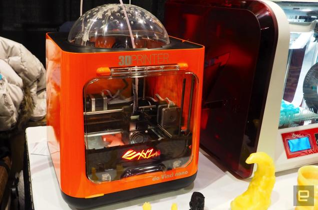 The da Vinci Nano is a plug-and-play 3D printer that costs only $230