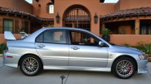 9,800-mile 2006 Mitsubishi Evo IX MR likely to set a record on Bring a Trailer