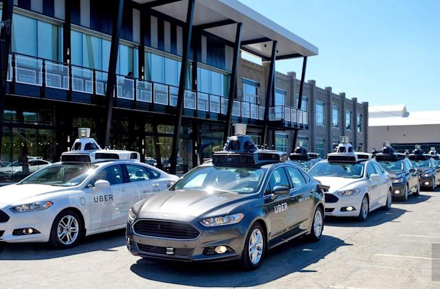 You can hail a self-driving Uber in Pittsburgh starting today
